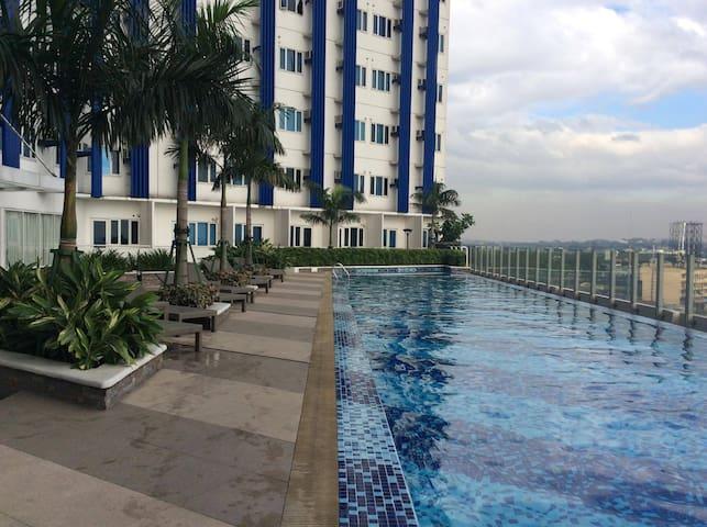 Ateneo De Manila-SMDC  1BR, sleeps 4 - Ciutat Quezon