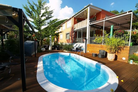 Modern Apartment with pool. - Zunzgen - Talo
