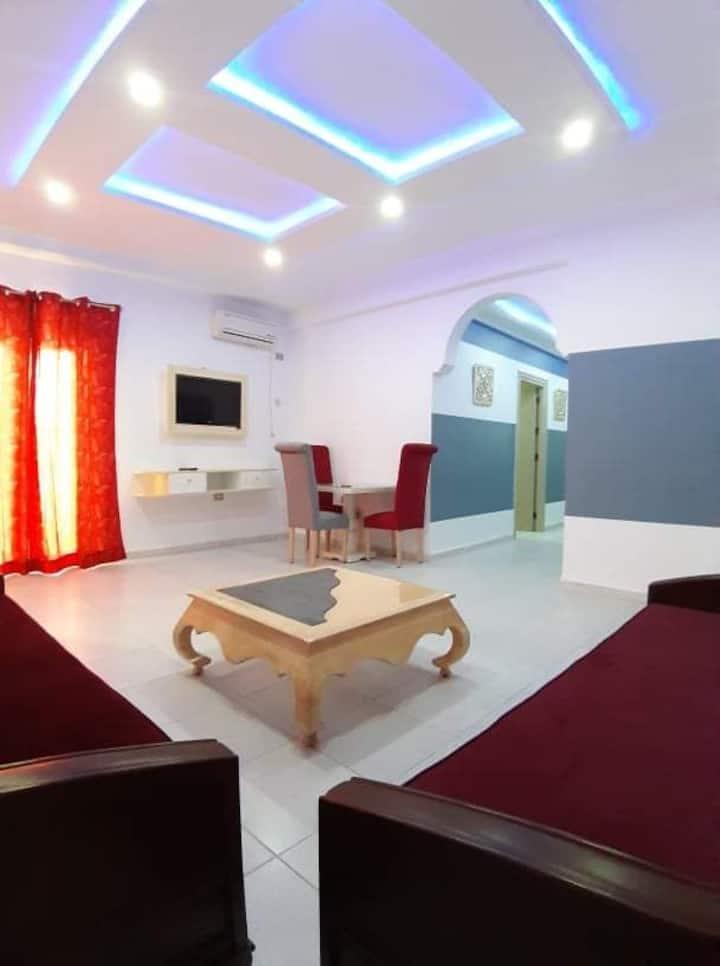 un bel étage de villa S+2