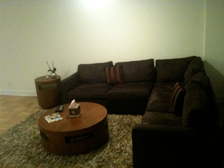 Couch, Coffee Table, & Side Table
