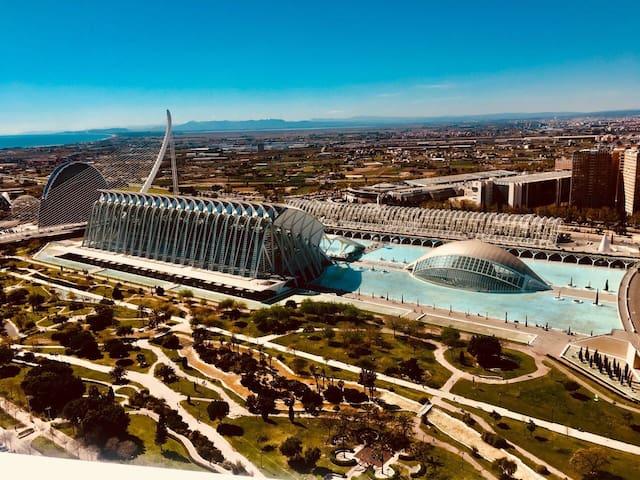 Habitación oceanographic Valencia