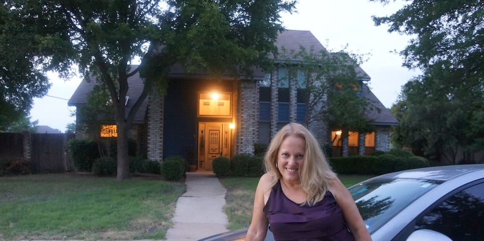 Cozy 1BD with share Bathroom - Plano - House