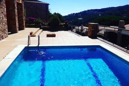 Apartment by the beach w pool - Sa Riera