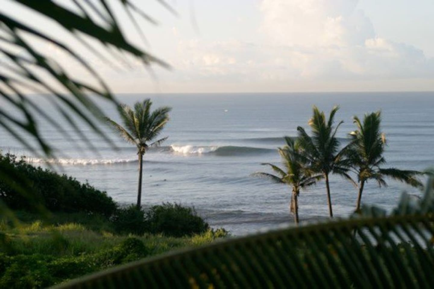 view of the Balian beach surf break ( one of the most consistent fun waves in Bali, and less than a minute walk from the bungalow )   All photos non professional, so all these pictures don't look as good as the real thing.