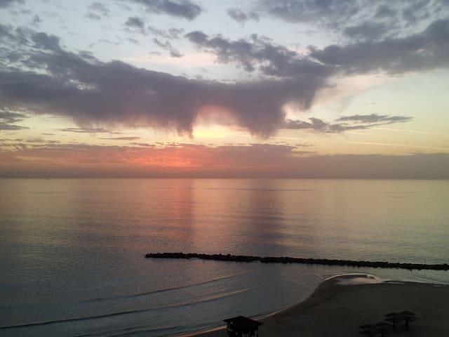 luxurious, sea facing, furnished - Haifa - Pis