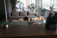 Spacious, new, cozy, apartment.