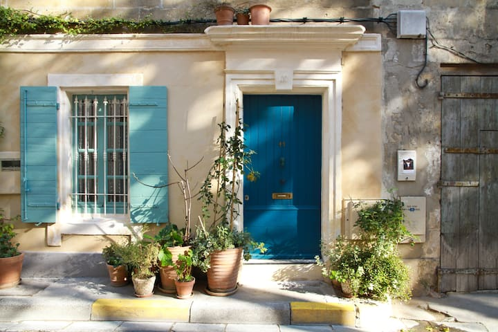 Arles Typical townhouse in historic