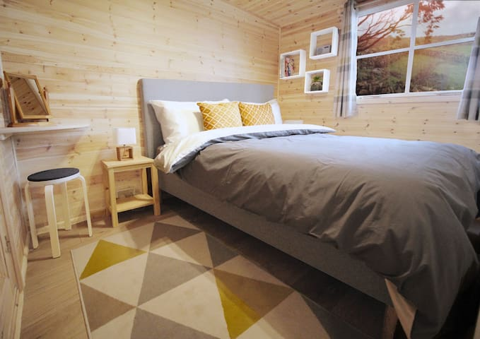 Scandi hygge inspired bedroom with extraordinarily comfortable Casper Mattress + Bedding