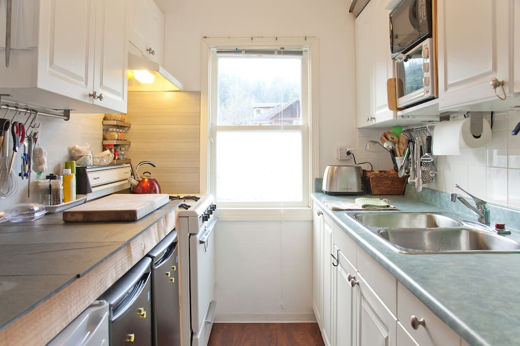 Small but very convenient kitchen!