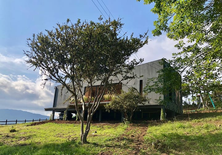 Casa Boscana entre las montañas de Boyacá
