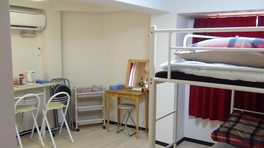 3Comfortable room in a quiet area of Osaka city