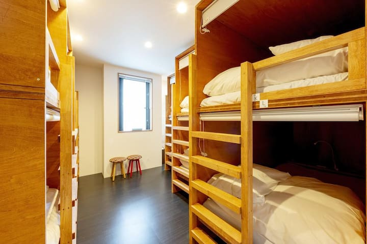 6 minutes walk from Asakusa Station! _Free wifi!