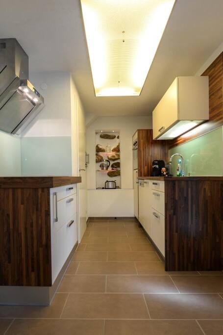 Küche - kitchen ground floor Apartment