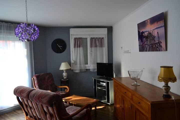Canapé , Appart meublé en plein centre de Belfort