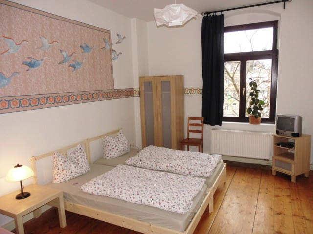Apartment 3R to 9 persons centrally