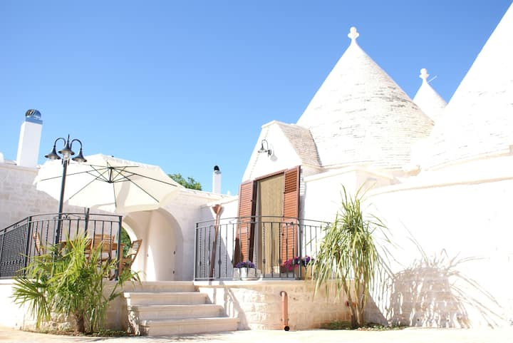 Typical Trulli in Puglia