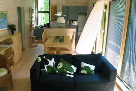 Modern cottage in the archipelago 5