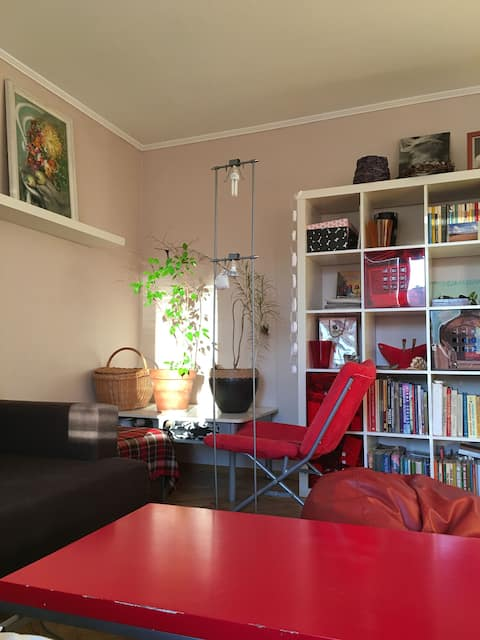 Comfortable room in  green and peaceful area
