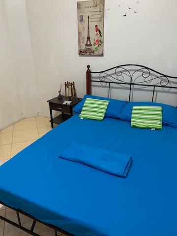 Room near Panagsama with Bathroom Aircondition