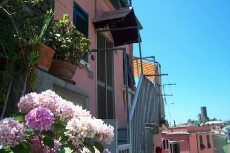 Splendid Vernazza, with seaview terrace - Vernazza - Apartament