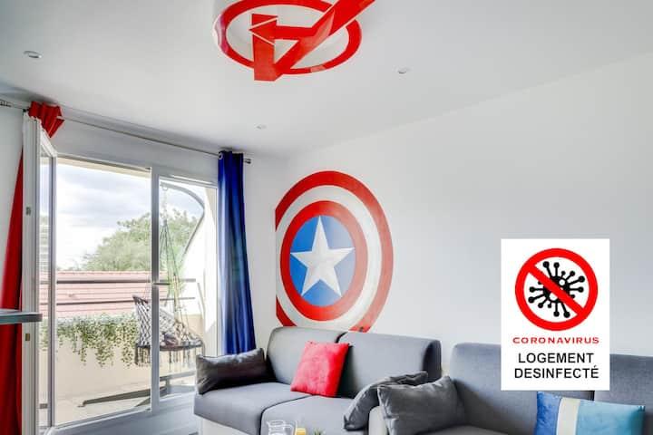 La Suite Avengers - 6 personnes 🦸♂️ ⭐