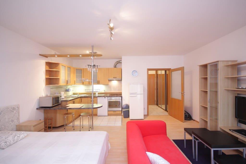 short term rent prague tomkova one wohnungen zur miete. Black Bedroom Furniture Sets. Home Design Ideas