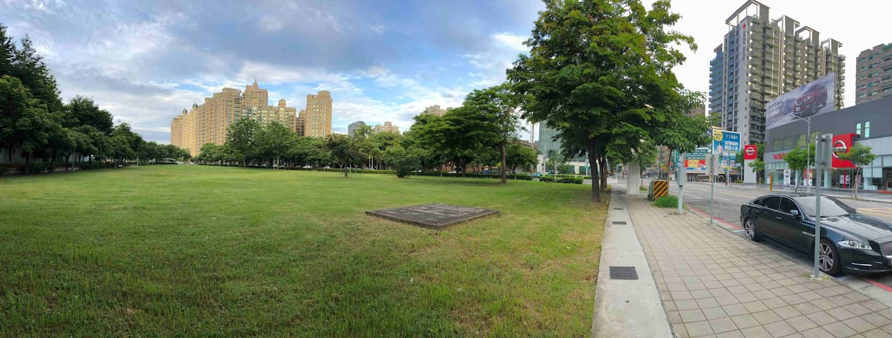 Hanmin豪華公寓整套出租(一個月以上長期合約租賃)~市裡的綠野仙蹤.. Hanmin apt