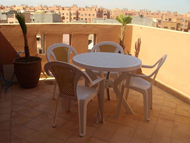 Magnifique Appartement avec terrasse Marrakech.