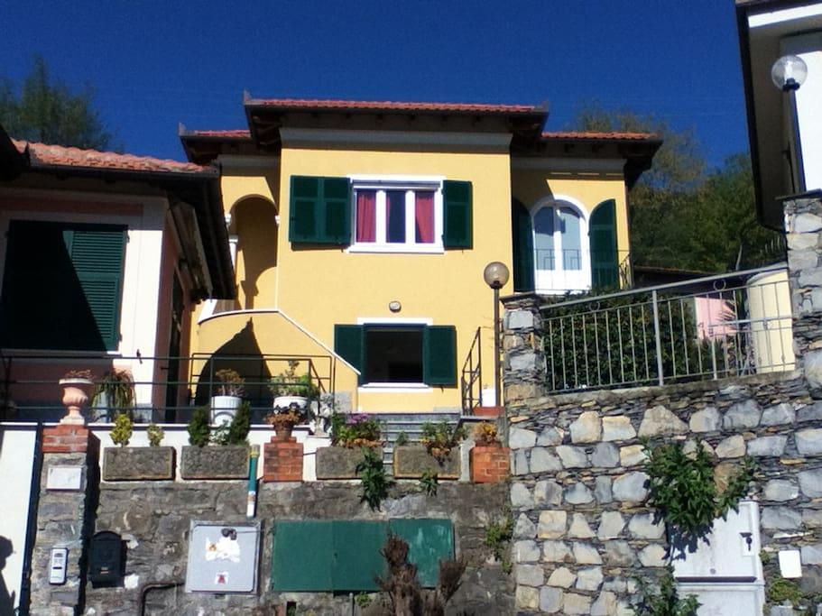 Villa Giulia - vista di fronte