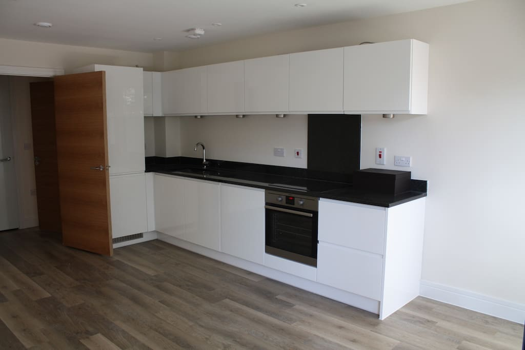 Granite surfaces, fridge freezer and dishwasher