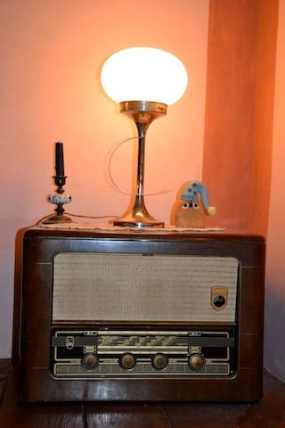 old radio from my grand father