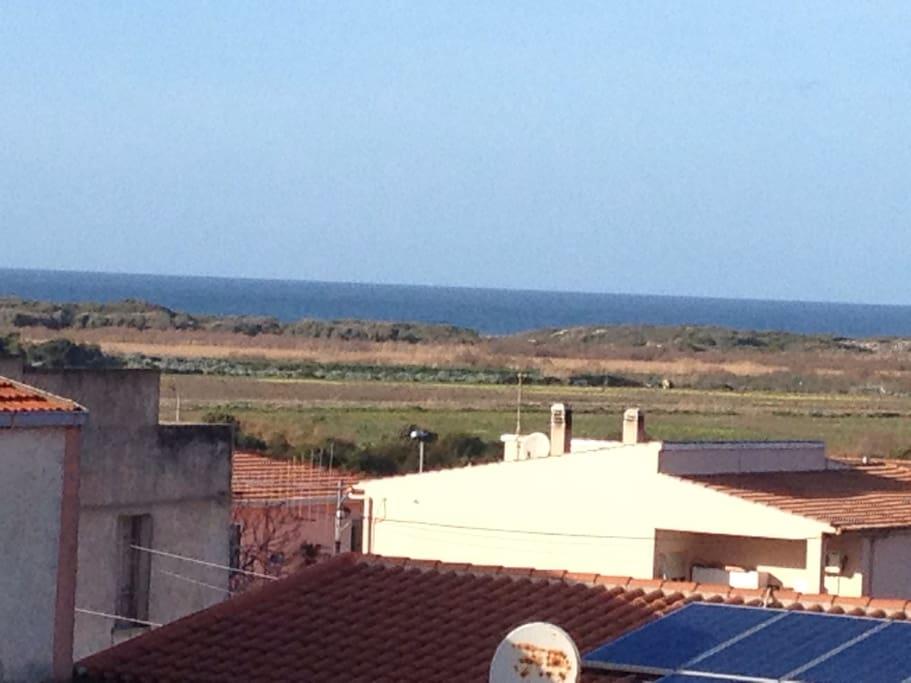 Vista dai terrazzi