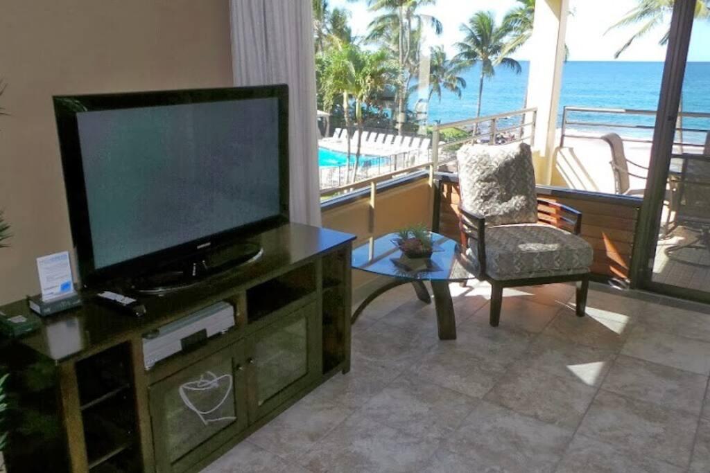 Flat screen TVs