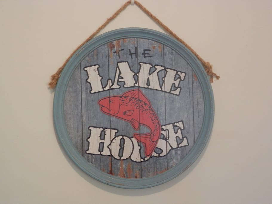 We are the Lake Family and this is our house
