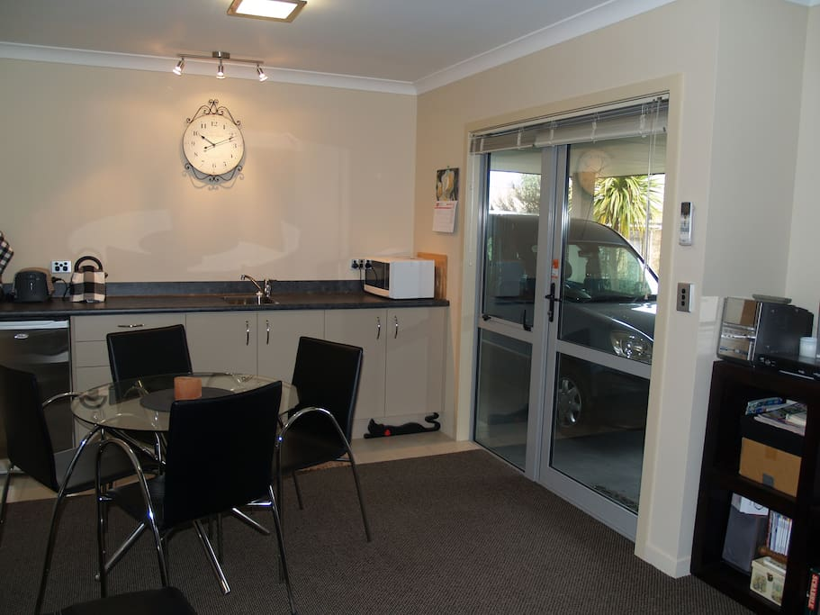 dining,kitchenette,lounge open to carport