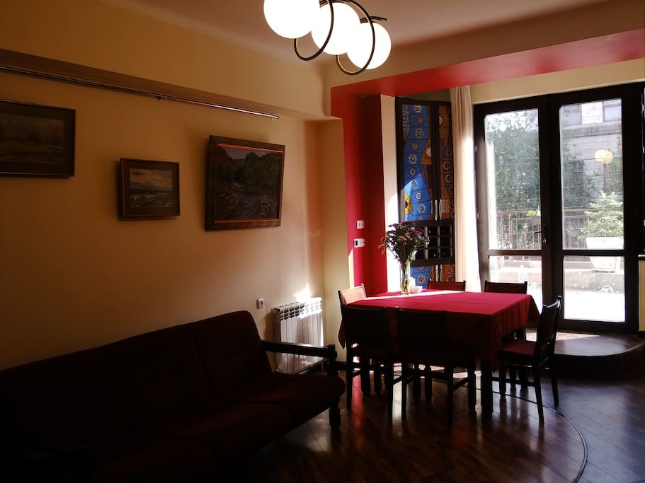 View, Summer, Street view, Garden view, City view, Sunrise, Photo of the whole room, Spring