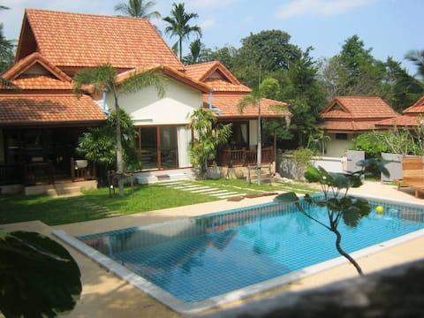 Baan Saowanee Orchard View Pool Villa (3 Bedroom)