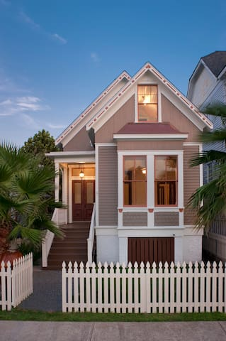 The Paul Naschke Home - Galveston - Maison