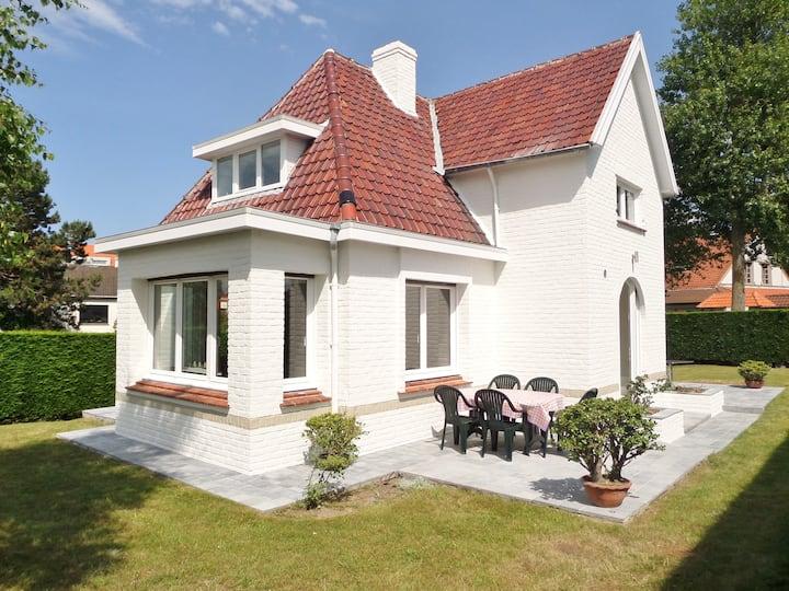 Villa Grillons aan de Belgische kust in Koksijde
