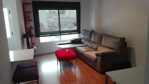 Moderno apartamento céntrico,cerca de todo.