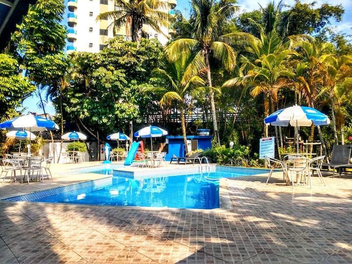 Hotel Pousada Vivendas do Sol e Mar - Suíte Prédio Anexo para casal