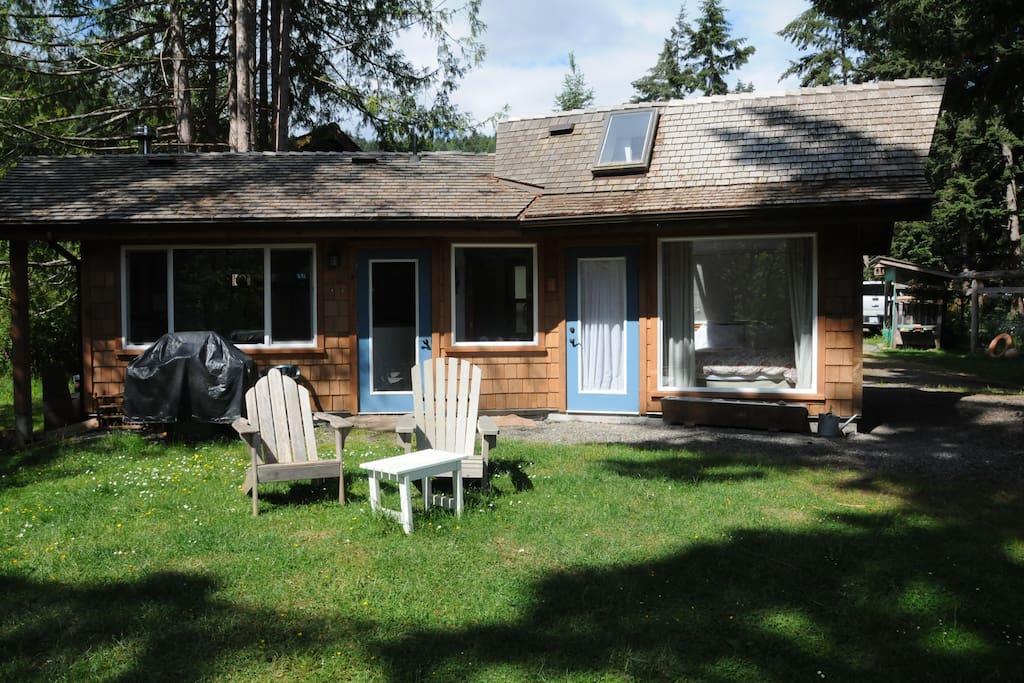 Saltspring Island Cabin Rental