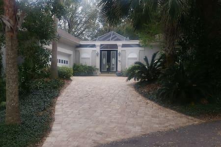Entire Guest Suite in Exclusive Resort Community. - Fernandina Beach - Rumah Tamu