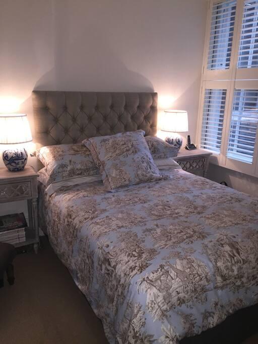 Bedroom luxury  linen, allergy free duvet and mattress topper