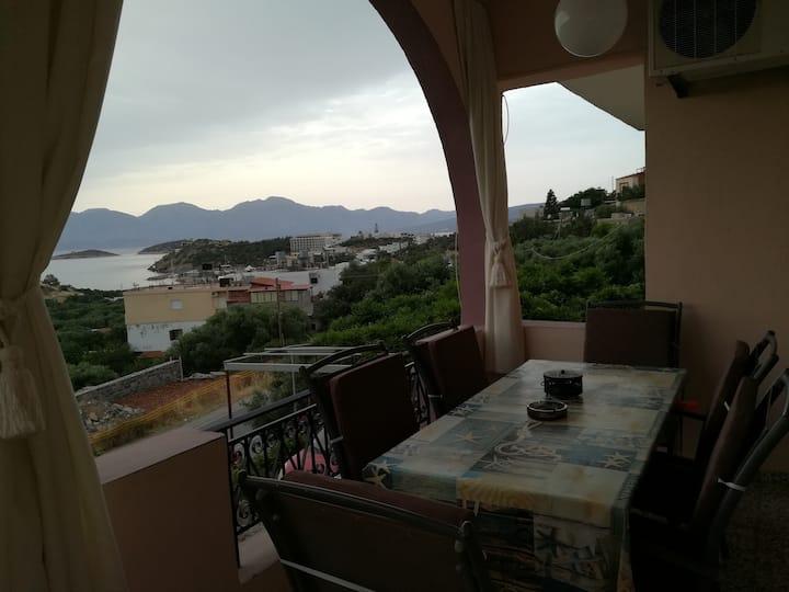 Villa AMALIA, Mirabello gulf view