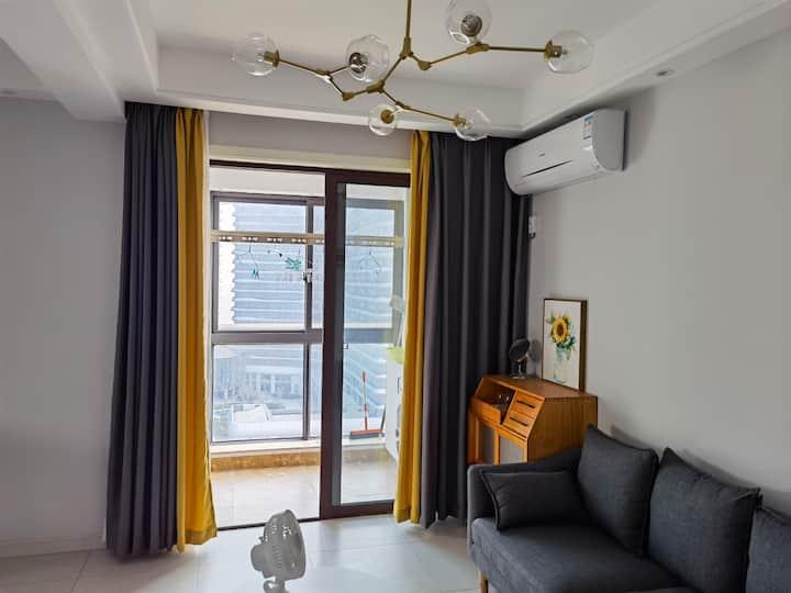 普陀东港可看海 一居室套房