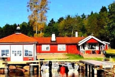 Holiday house directly at lake Sommen - Ydre V - Domek parterowy