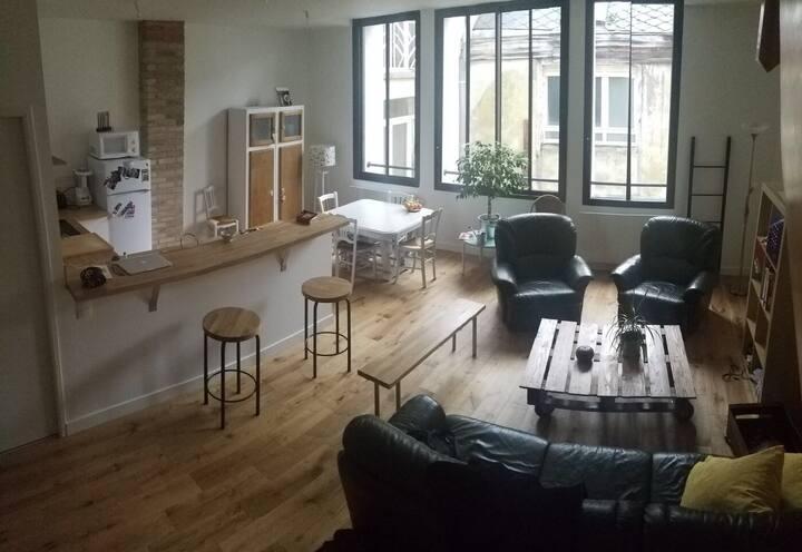 appartement design, gare centre-ville