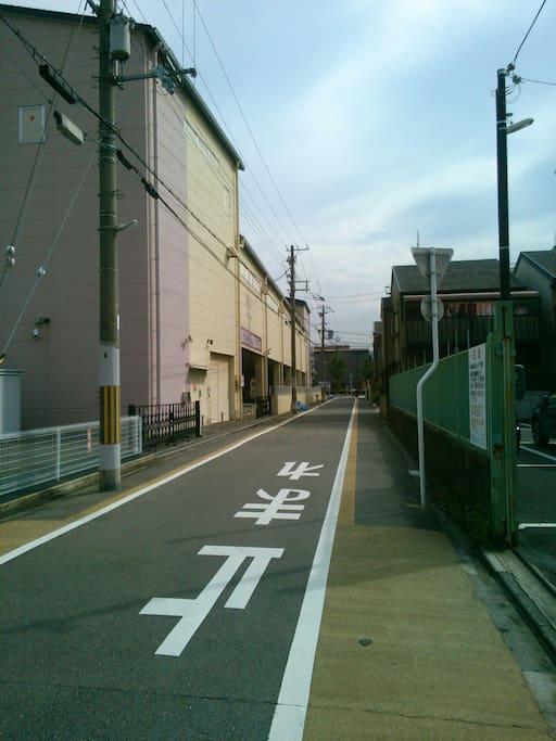 九条駅から徒歩3分! 3 mins from Kujo st.