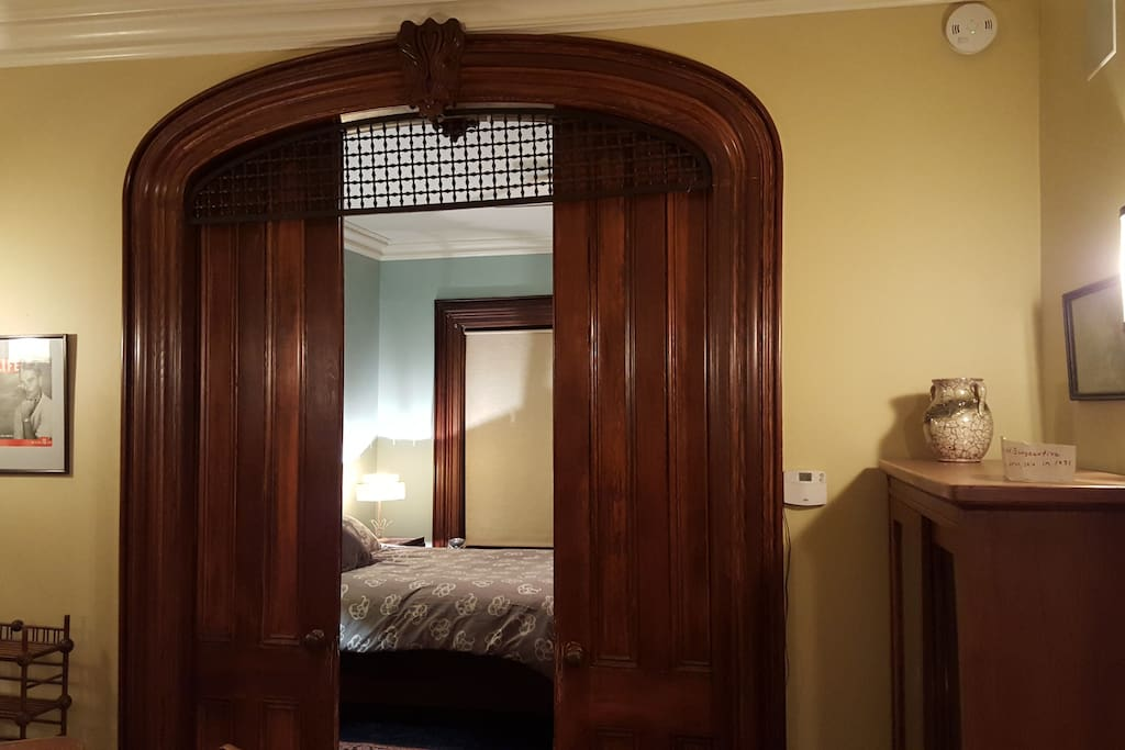 View of master from dining room